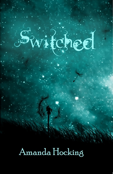 Cover for Switched, by author Amanda Hocking