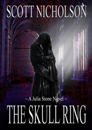 Cover for The Skull Ring, by author, Scott Nicholson