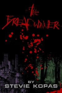 Front cover art of The Breadwinner by Stevie Kopas