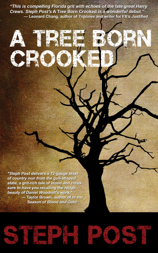 A tree born crooked front cover only at 300 dpi